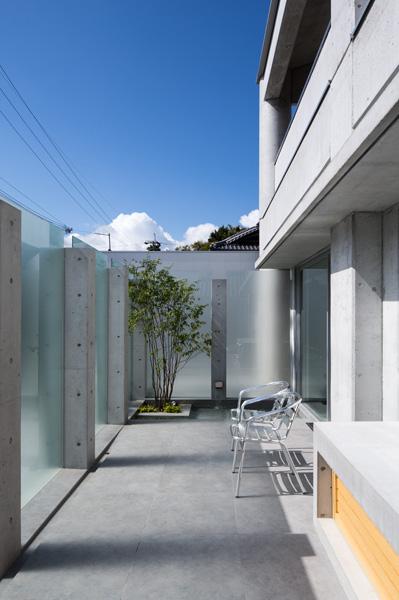 熊野の家 テラス